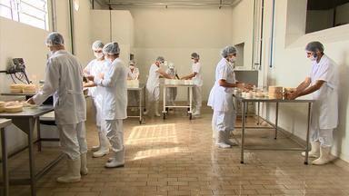 Curso investe em empreendedorismo no mercado leiteiro de Juiz de Fora - Aulas são oferecidas pelo Instituto Cândido Tostes, que forma profissionais no setor há 82 anos. Segundo instituição, mais de 70% garantem emprego no estágio.