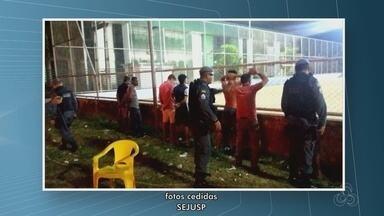 11 estabelecimentos noturnos são fechados em operação policial - Ação também encontrou 3 facas e uma arma de brinquedo, na madrugada deste sábado (14) na Zona Sul de Macapá.