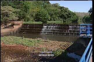 Vazão do Rio Uberaba tem recuperação considerável após chuva - Informação foi divulgada pela assessoria do Centro Operacional de Desenvolvimento e Saneamento de Uberaba (Codau). No entanto, por precaução, o Codau ainda mantém os três motores do sistema de transposição do Rio Claro acionados.