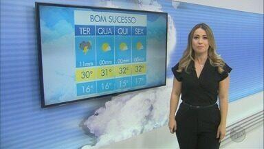 Confira a previsão do tempo para a terça-feira (17) no Sul de Minas - Confira a previsão do tempo para a terça-feira (17) no Sul de Minas