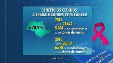 Número de pedidos de auxílio-doença no INSS por câncer aumenta quase 21% - Não é necessário ter um tempo mínimo de contribuição para conseguir o benefício.