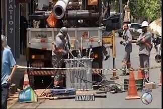 Agências bancárias são alvos de criminosos em Bambuí - Banco do Brasil e Itaú tiveram os caixas eletrônicos explodidos.