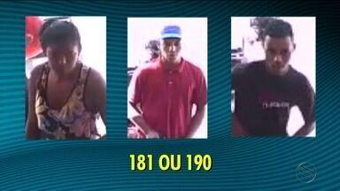 Trio assalta estabelecimento comercial na Barra dos Coqueiros - Trio assalta estabelecimento comercial na Barra dos Coqueiros.