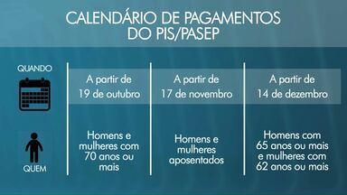 Idosos começam a receber dinheiro do PIS/PASEP na quinta-feira - Confira o calendário de pagamento.