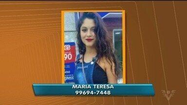 Família procura adolescente desaparecida em Peruíbe - Iris Sabino de Souza, de 17 anos, foi vista pela última vez na rodoviária da cidade.