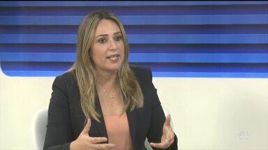Secretária de educação fala sobre aplicação das provas do Enem - Secretária de educação fala sobre aplicação das provas do Enem