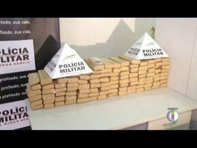 Quantidade de drogas apreendidas em Valadares em 2017 aumentou 600% em relação a 2016 - Polícia intensifica ações para combater o tráfico na região.