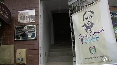 Passeio inicia comemorações pelos 100 anos de nascimento de José Condé - Houve visita a casa onde o jornalista e escritor nasceu