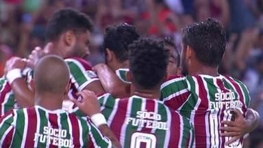 Os gols de Fluminense 3 x 1 São Paulo pela 29ª rodada do Brasileirão - Henrique Dourado, Sornoza e Robinho marcaram para o tricolor carioca. Shaylon diminuiu para o tricolor paulista.