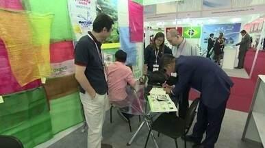 Empresários chineses mostram novidades que vão ganhar o mundo - Durante feira realizada em São Paulo, empresários da China apresentam novidades que podem gerar negócios no Brasil.