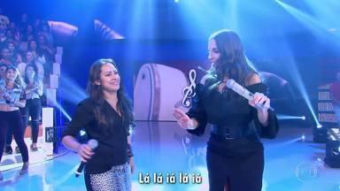 Ivete canta a música de Bel Feitosa - Compositora de Recife se emociona ao escutar 'Eu Vou de Amor'na voz da cantora baiana