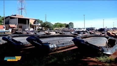 Barcos e carros serão leiloados em Foz do Iguaçu - O leilão da Receita Federal tem lances a partir de R$ 100.