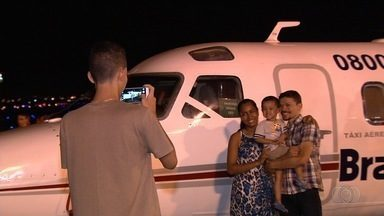 Evento comemora o DIa do Aviador no antigo aeroporto de Goiânia - Festa também faz parte das comemorações do aniversário da capital.