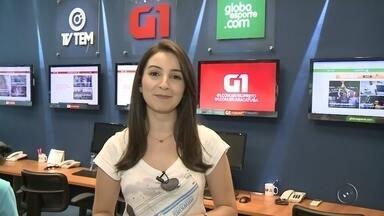 Mayara Corrêa traz os assuntos em destaque do G1 em Rio Preto e Araçatuba - Mayara Corrêa traz os assuntos em destaque do G1 em Rio Preto e Araçatuba.