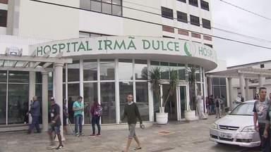 Rapaz espera cirurgia no Irmã Dulce - Felipe está internado há quase um mês esperando uma cirurgia no fêmur.