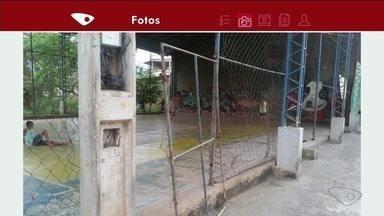 Moradores de bairro em Cachoeiro reclamam de situação precária de áreas de lazer - Prefeitura disse que vai incluir pedido nas demandas da prefeitura.