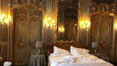 Bruno Astuto se hospedou em um palácio em Roma - Colunista mostra detalhes do local, que chegou a abrigar um papa