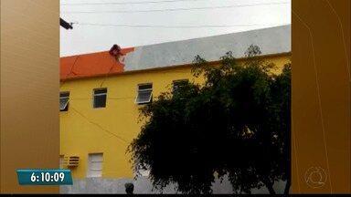 Pintor fica gravemente ferido depois de sofrer uma descarga elétrica trabalhando em Cuité - Ele perdeu parte dos braços e também os dedos dos pés.
