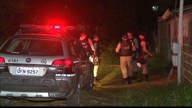 Dois homens foram mortos nesta terça-feira, em Santa Rita - A Polícia acredita que eles tinham envolvimento com o crime e por isso foram mortos.