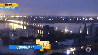 Tempo: confira o amanhecer no interior do RS nesta quinta-feira (26) - Veja as temperaturas.