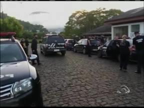 15 pessoas são presas na operação Campo Seguro no RS - Operação desarticulou quadrilha que roubava máquinas agrícolas