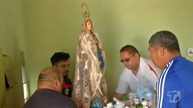 Peregrinação de N. Senhora da Conceição já chegou a mais de 2 mil lugares em Santarém - Cinco imagens são utilizadas nas peregrinações, segundo a organização. O número de visitas segue cronograma da Diocese de Santarém.