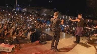 Turma do Pagode e Sorriso Maroto se apresentam na Arena da Amazônia - Show 'Pagode 360' animou público.