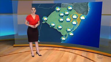 Tempo: há previsão de chuva para várias regiões do RS nesta sexta-feira (3) - Assista ao vídeo.