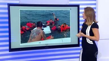Destaques do dia: lancha com destino a Morro de São Paulo naufraga com oito pessoas - Veja outros fatos que marcaram a quinta-feira (2).