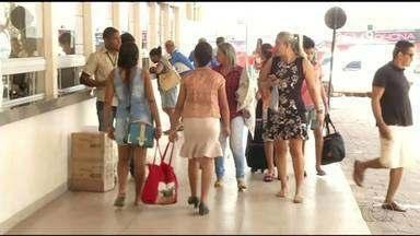 Feriado tem movimento fraco em rodoviária de Araguaína - Feriado tem movimento fraco em rodoviária de Araguaína