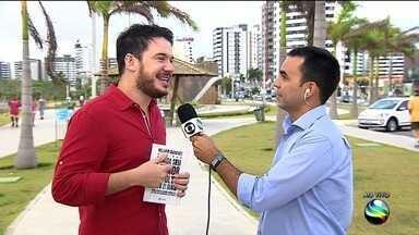 William Sanches participa de workshop e lança livro em Aracaju - William Sanches participa de workshop e lança livro em Aracaju.