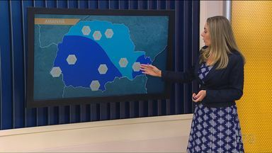 Meteorologistas alertam para temporais no Paraná - A chuva vai ser mais volumosa entre sexta e sábado.