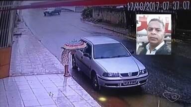 Polícia recebe denúncias, mas suspeito de sequestrar Thayná segue foragido - Ademir Lúcio Araújo Ferreira, de 52 anos, teve a prisão decretada. Imagens mostram Thayná entrando no carro dirigido pelo suspeito no dia 17 de outubro.