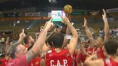 Paulistano deslancha no fim, vence Franca e festeja título estadual no Pedrocão - Time da capital paulista venceu por 91 a 76 e conquistou título estadual pela 1ª vez na história.