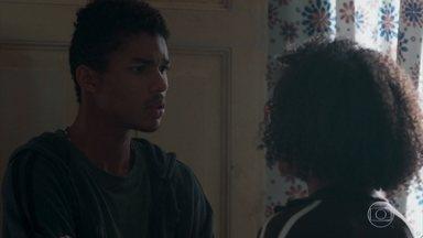 Anderson decide sair para procurar por Fio - Ellen e o irmão se preocupam com o sumiço do rapaz