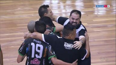 Marreco enfrenta o Assoeva pela semi final da liga de futsal - Expectativa é grande na cidade.