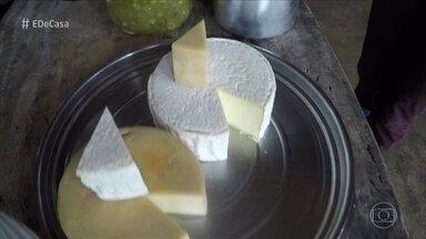 Família mineira faz queijo artesanal que ganhou prêmio na França - Zeca Camargo visita a fazenda e conhece como o queijo é feito