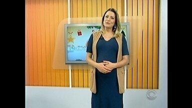 Apresentadora Francine Rabuske se despede do JA para licença maternidade - Arthur chega ainda este mês.