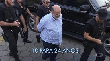 Pena de João Vaccari Neto aumenta em 14 anos - A decisão é do Tribunal de Segunda Instância dos processos da Lava Jato. O órgão também julgou recursos de mais sete condenados por corrupção na Petrobras.