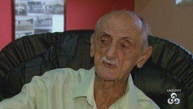 Amadeu Teixeira morre aos 91 anos, em Manaus - Fundador do América ganhou expressão e personalidade ao ficar à frente do clube como presidente e técnico por 53 anos.