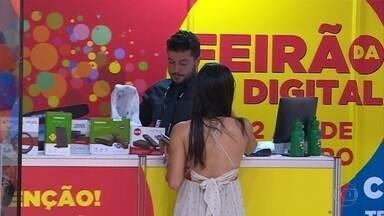 Feirão Digital oferece equipamentos da TV Digital em shoppings da Grande BH - O sinal analógico de televisão começa a ser desligado nesta quarta-feira em Belo Horizonte e região.