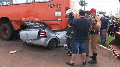 Homem morre após perseguição policial - O acidente foi na PR-323, em Doutor Camargo