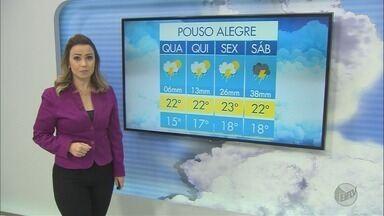 Confira a previsão do tempo para esta quarta-feira (8) no Sul de Minas - Confira a previsão do tempo para esta quarta-feira (8) no Sul de Minas