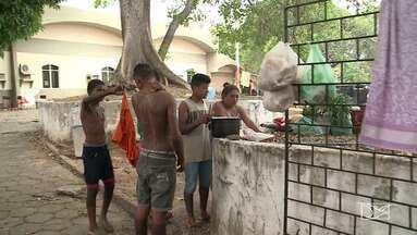 Índios ocupam a sede do Incra, em São Luís - Índios de três etnias pedem agilidade na demarcação de terras no interior do Maranhão