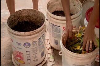 Morador de Divinópolis cria campanha para lixo consciente na cidade - Ação é para conscientizar os moradores do Bairro São José sobre a importância de manter as ruas limpas.