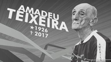 Amadeu Teixeira: uma vida dedicada ao esporte no Amazonas - Ícone do futebol amazonense faleceu nesta terça aos 91 anos. Personalidade ficou à frente do América-AM por 51 anos.
