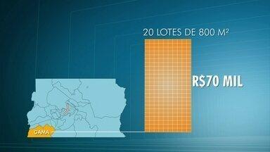 Polícia Civil faz operação contra grilagem de terra no Gama e em São Sebastião - Uma área pública cedida para agricultura foi parcelada e estava à venda.