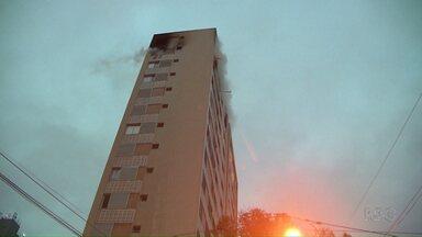 Reviravolta no caso do incêndio em prédio em Curitiba - Um homem morreu e polícia investiga se o incêndio foi criminoso