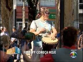 Fentepp tem início em Presidente Prudente - Festival terá apresentações em vários locais da cidade.