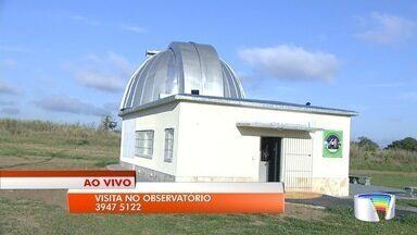 Após incêndio, observatório do DCTA é reaberto ao público em São José - O incêndio aconteceu em agosto e danificou a cúpula. Nenhum equipamento telescópico foi atingido.